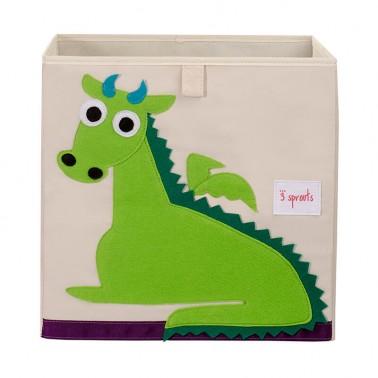 cubo almacenaje infantil dragon  3 sprouts