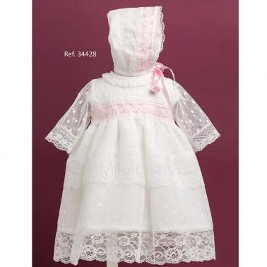 comprar vestido ceremonia tul con encaje 34428 mikamama