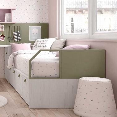 Brazos para cama compacta