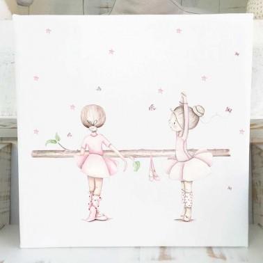 Cuadro infantil Bailarinas