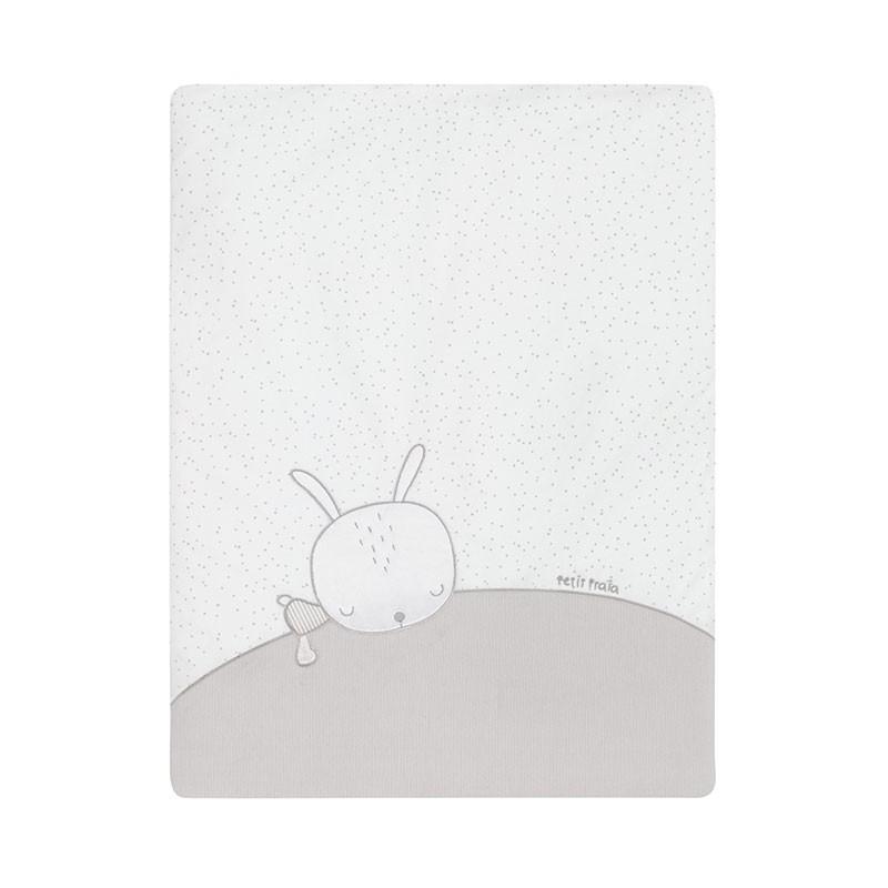 Colcha Minicuna Sleepy Gris