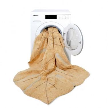 Alfombra lavable Monstera Honey