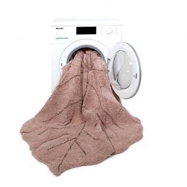 Alfombra lavable Monstera Vintage Nude