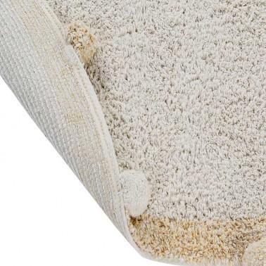 Alfombra lavable Bubbly Natural-Honey