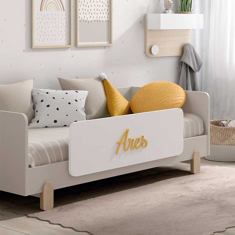 Barrera quitamiedos rectangular Arco iris