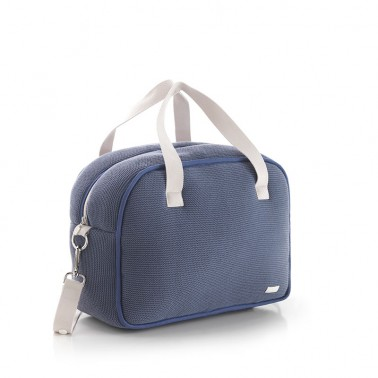 Bolso maternal Prome London Azul Cambrass