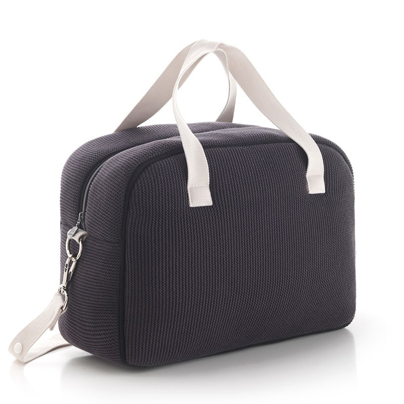 Bolso maternal Prome London Gris Cambrass