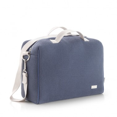 Bolso maternal Tabela London Azul Cambrass