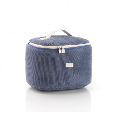 Bolso neceser Mini London Azul Cambrass