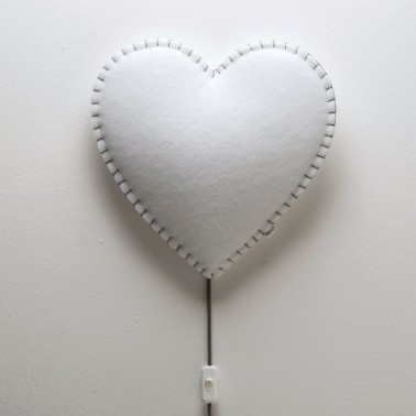 Lampara De Pared Corazon