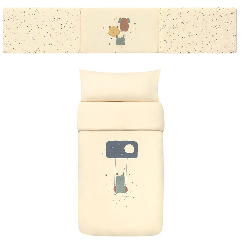 Pack Nordico y Protector Confetti Ivory