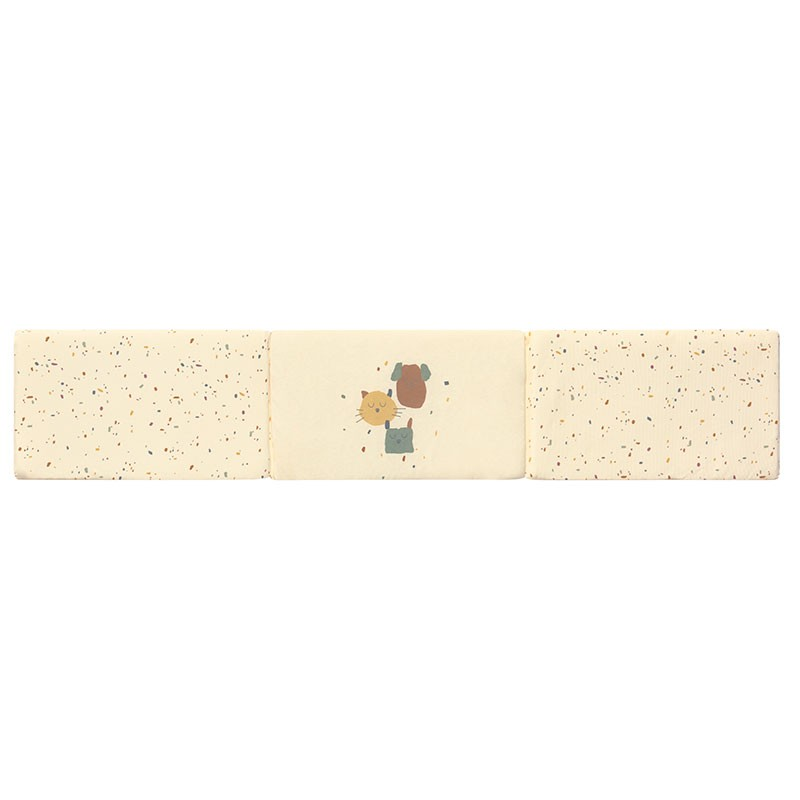 Protector Cuna Confetti Ivory