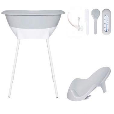 Set bañera Light Grey Luma