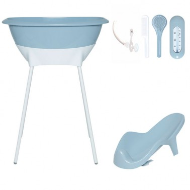 Set bañera Celestial Blue Luma
