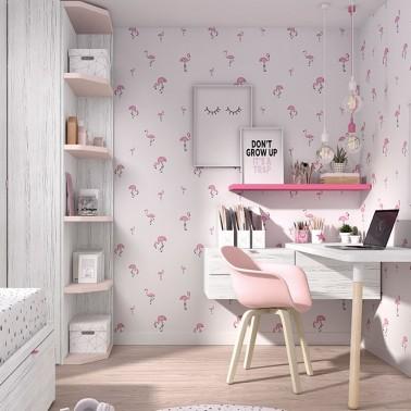 Papel de pared Flamingo