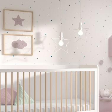 Papel de pared Dots Mini Combi