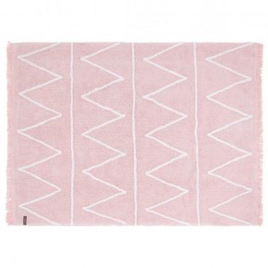 alfombra lavable hippy pink de lorena canals