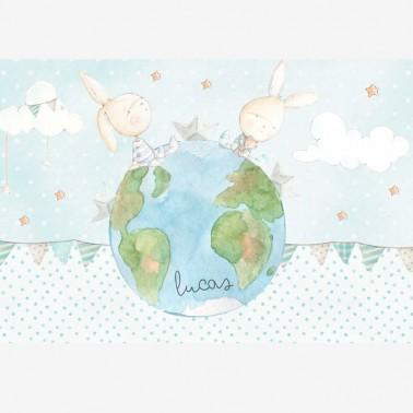 Mural Tu yo y el mundo