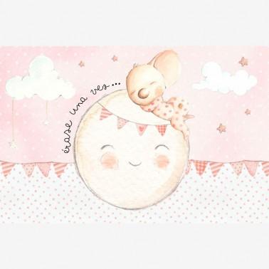 Mural Soñando en la Luna llena