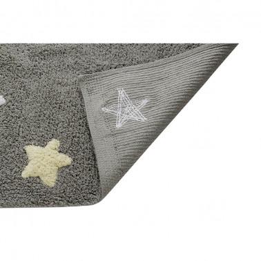 Alfombra Estrellas Tricolor Azul Lorena Canals