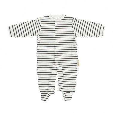 Pijama bebe rayas Guau