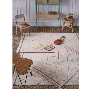 Alfombra Lavable RugClycled Bereber