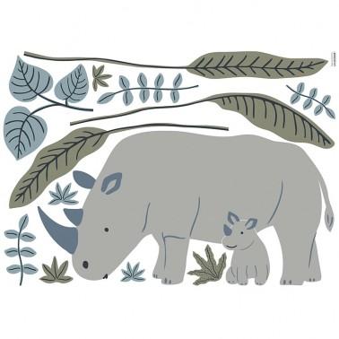 Vinilo Tanzania Rhinos