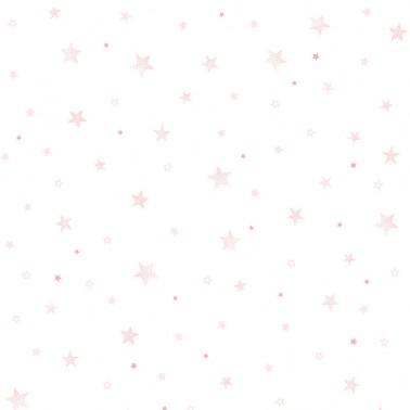 Papel pintado Stars Rosa
