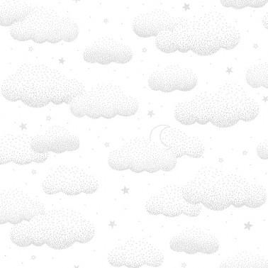 Papel pintado Clouds Grey