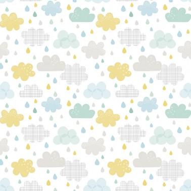 Papel pintado Drops y Clouds