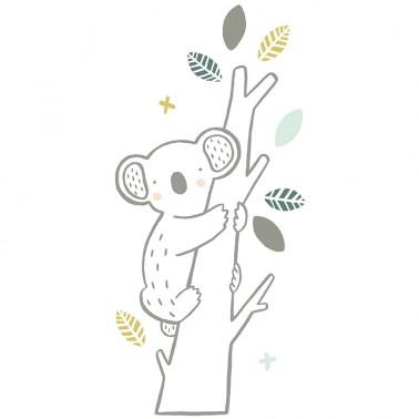 Vinilo Koala en arbol