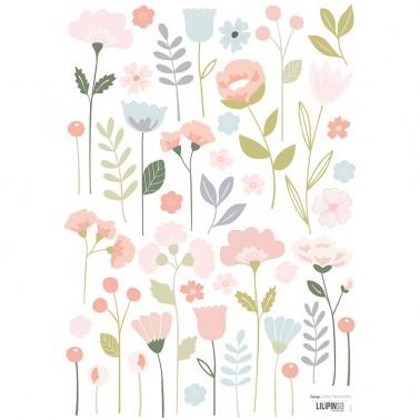Pack Vinilo Flowers Bloom