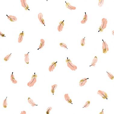 Papel pintado Gold Feathers