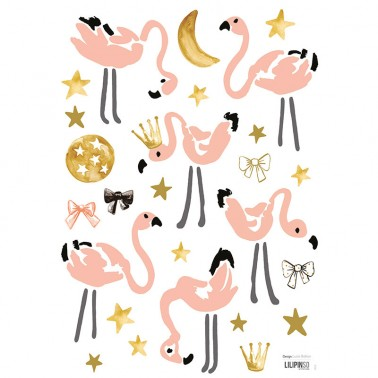 Pack Vinilo Flamingos