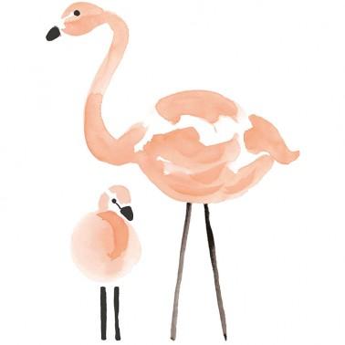 Vinilo Flamingos