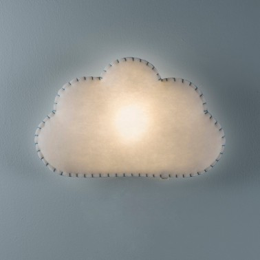 aplique de pared nube