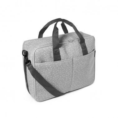 maleta barcelona mini stella gris de babyclic