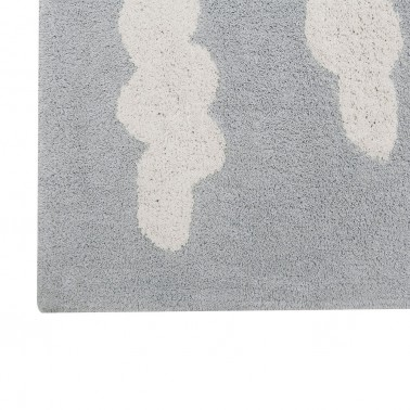 Alfombra lavable Clouds Grey