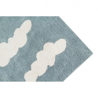 Alfombra lavable Clouds Vintage Blue