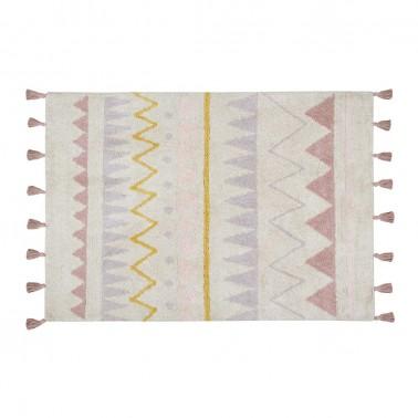 alfombra lavable azteca natural-vintage nude lorena canals