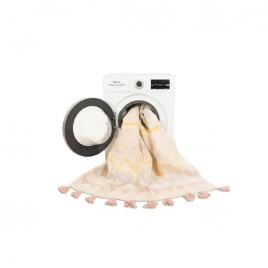 Alfombra lavable Azteca Natural-Vintage Nude