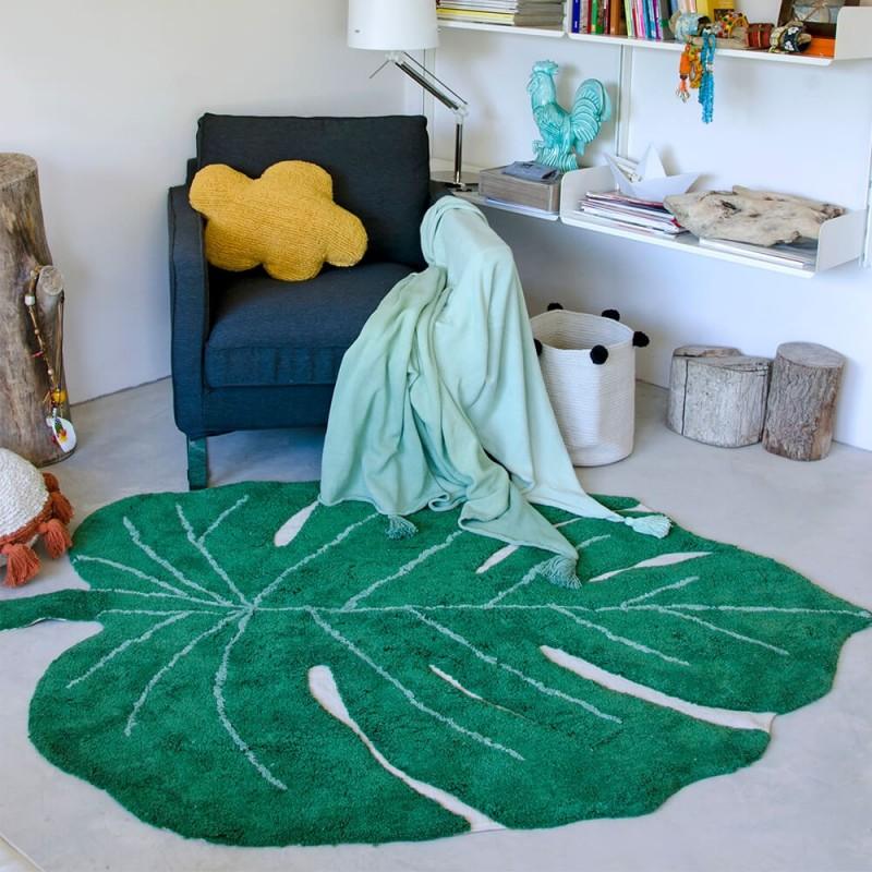 Alfombra lavable Monstera Leaf