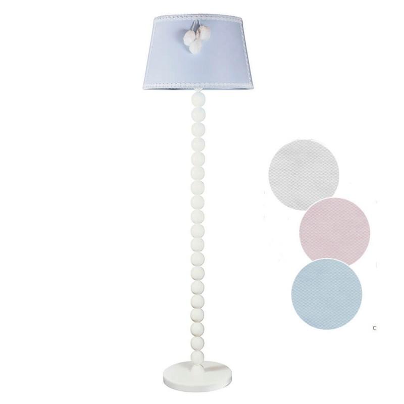 lampara infantil suelo modelo nube tres colores