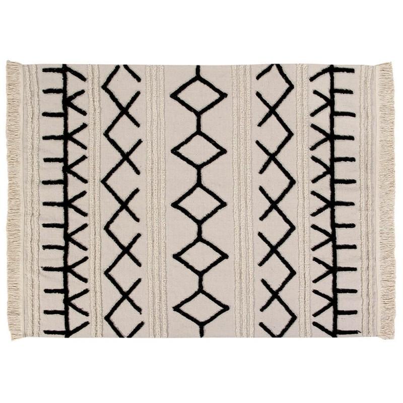 alfombra lavable bereber canvas lorena canals