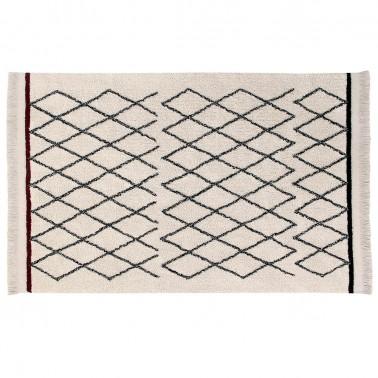 alfombra lavable bereber crisscross lorena canals