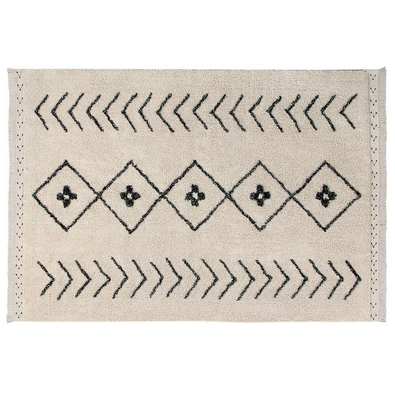 alfombra lavable bereber rhombs lorena canals