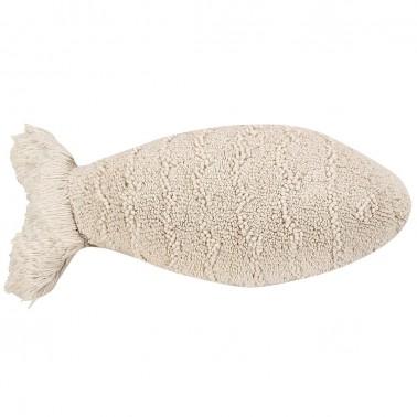 cojin lavable baby fish natural lorena canals